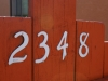 Our house number!